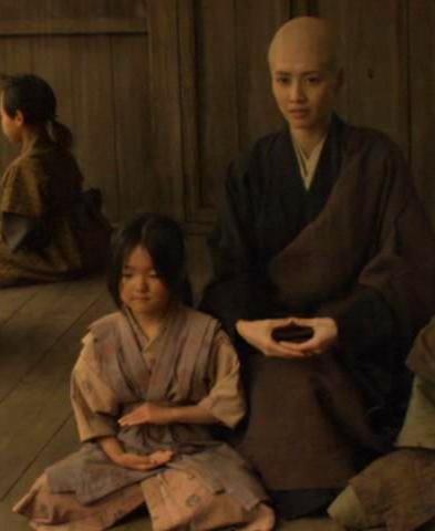 Zen Master & girl